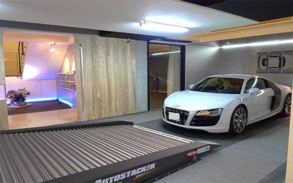Upgrading home garage with an Autostacker parking lift
