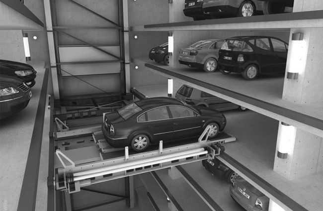 Automated Mechanical Car Parking  System