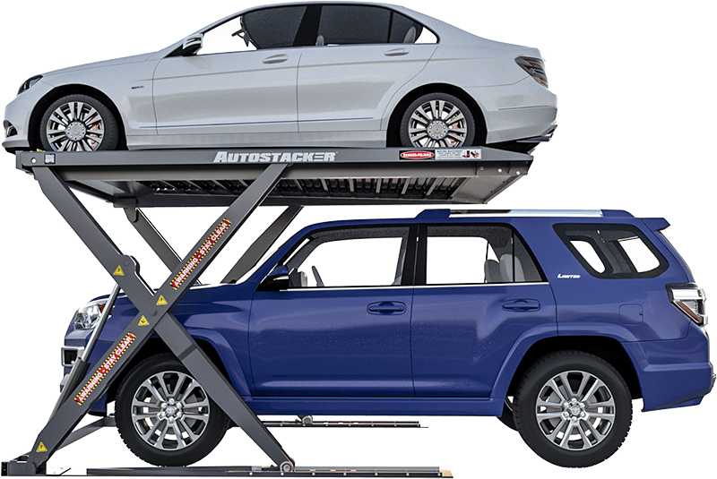 Autostacker is a home parking lift