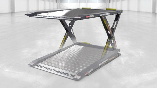 Autostacker Lifting Platform